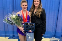Elsie wins the 2019 Jr A Athlete of the Year award at the Ontario Provincial Championships!