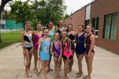 Our athletes performed at the Sound of Music Parade in Burlington, Ontario June 2019.