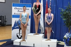 Pizzazz athletes place top 3 in the BA 2 Baton Event at the 2019 Ontario Provincial Championships.
