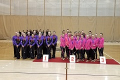 Team Infinity Silver medalists in WBTF Group headed to Limoges, France to represent Canada at the International Cup Championship.
